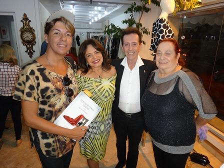 Fabio Sande, Marlene Goldin Pinho, Pitombo e Ethel Baratz