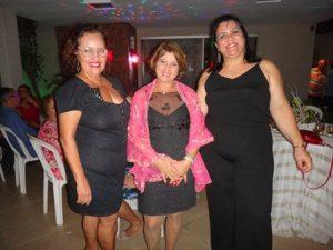 Fatima Faris, Soraia Sleiman Elias  Sallum e Quitéria Mattos