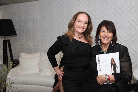 Glória Maria Araujo e Micheline Thomé