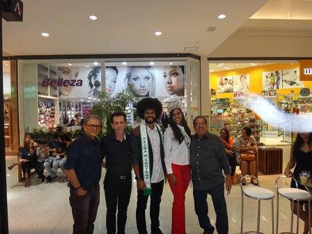 José Lino Carneiro, Pitombo. Mister Feira Hudson Vieira Portela, Miss Feira Carolina Lima Silva e Antonio José Larangeira