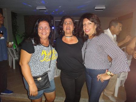 Luci Almeida Simões, Safira Lyra e Jane Brito