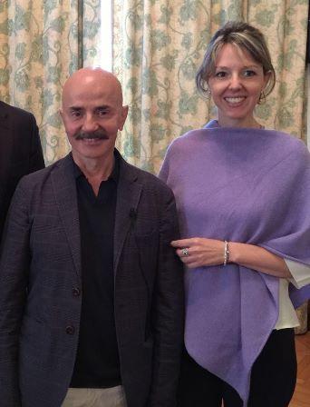 Os cirurgiões italianos Dr. Giovanni Botti e Dra. Chiara Botti