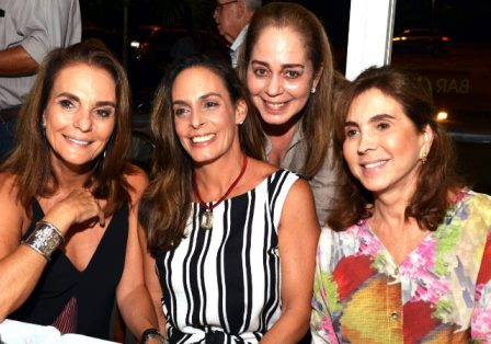 Patricia Secco, Bel Karan, Monica Ferraz e Beth Vianna Pinto