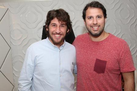 Patrick Cohen e Thiago Aragão