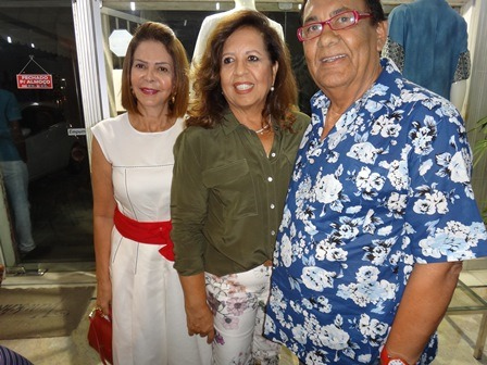 Solange Rodrigues, Linda Cortes e Cid Daltro