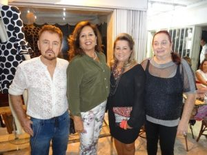Suca Baratz, Linda Cortes, Ana Ferrer e Ethel Baratz