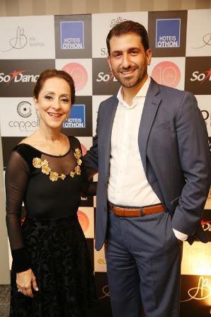 Ana Botafogo e Bruno Heleno