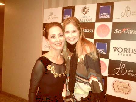 Ana Botafogo e Gisela Markenson