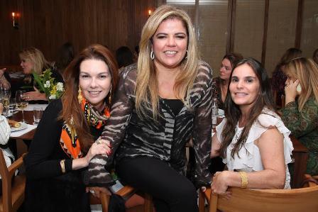 Ana Cecilia de Azevedo, Angelica Zamdona e Beth Giraldez
