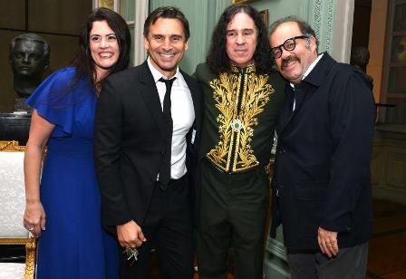 Ana Paula Pedro , Murilo Rosa, Geraldino Carneiro e  Otavio Muller
