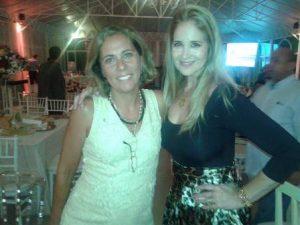 As primas Viviane Araujo e Gisela Markenson
