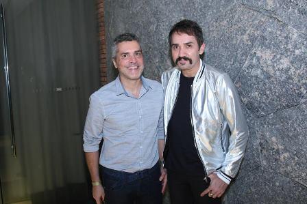 Claudio Cadeco e Beto Silva