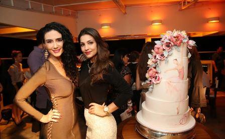 Cristiane Machado e Nicole Evangeline