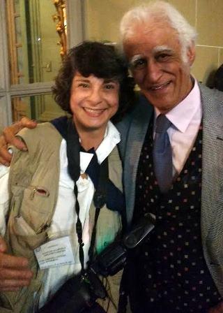Cristina Granato e Ziraldo