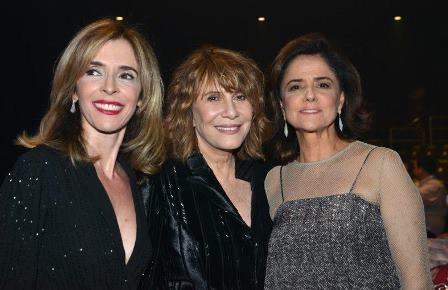 Debora Evelyn , Renata Sorrah e Marieta Severo