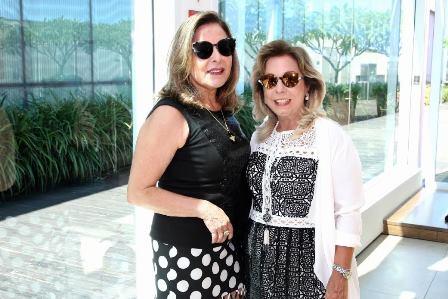 Dirce Mota e Raquel Gusmão