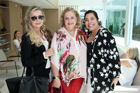 Erise Villela, Cristina Aboim e Claudia Cury