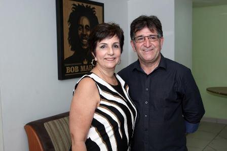 Fátima e René Simões