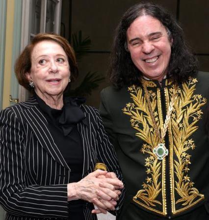 Fernanda Montenegro e Geraldino Carneiro