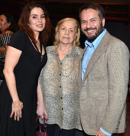 Françoise Forton, Jacqueline Laurence e Mauricio Baduh