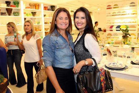 Gerly Maia e Claudia Goldberg