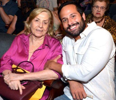 Jacqueline Laurence e Marcelo Calero