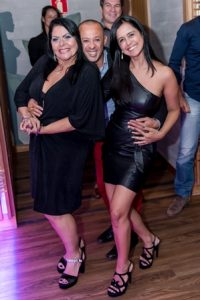 Jane Quiroz, Silvio de Borgges e Dirce Braga