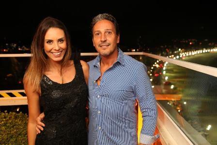 Karina Nunes e Gilberto Ruiz Vieira.