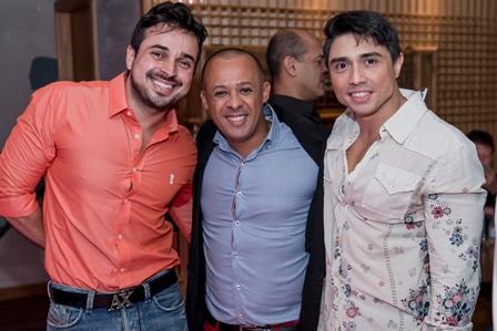 Kerlon Muniz, Silvio de Borgges e Jacob Benoliel