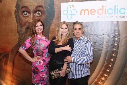 Kristhel Byancco, Gisela Markenson e Luis Villarino
