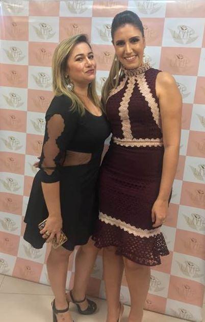 Laine Arcanjo e Larissa Falcão