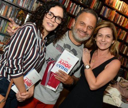 Luciana Braga, Marcos Breda e Naura Schneider