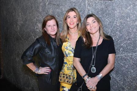 Maria Geyer, Beth Flores e Olga Oakim.