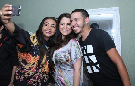 Maria Rita entreTereza Diniz e Laion Caetano