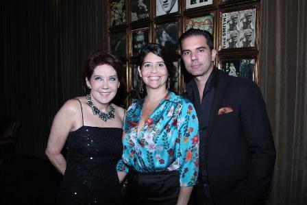 Maria Victoria de Oliveira, Tatiana Costa e Cristiano Viola