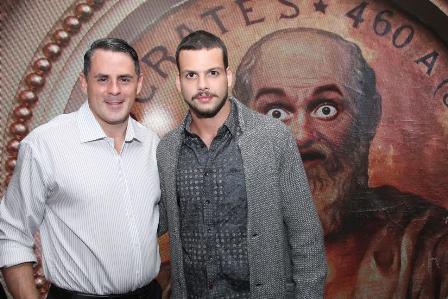 Roberto Rique e Newton Rique Neto