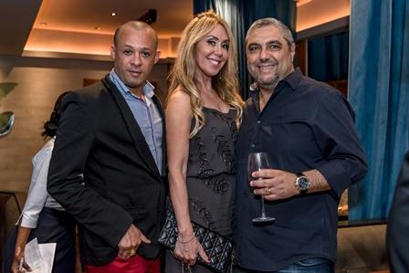 Silvio de Borgges, Tania e Marcelo Badin