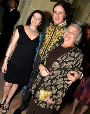 Tessy Callado , Geraldinho Carneiro e Ana Arruda Callado