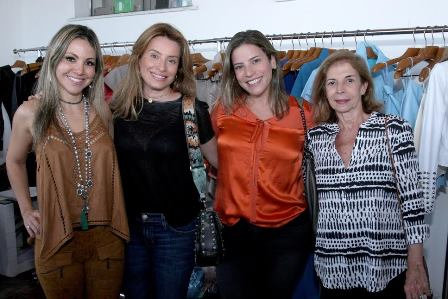 Alessandra Amaral, Fabianna Renaut, Lucília Upton e Rosa Moreira