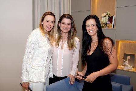 Aline Barata, Wanessa Braz e Gisele Picciani