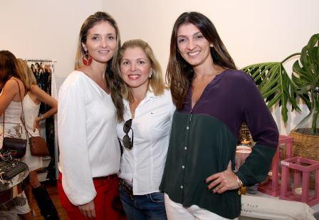 Bianca Damaren, Cinthia Rosalba e Letícia Carvalho
