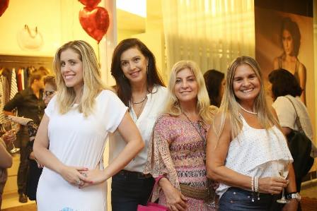 Bruna Barros, Sônia Noronha Pina, Denise Felix e Sandra Hermanny