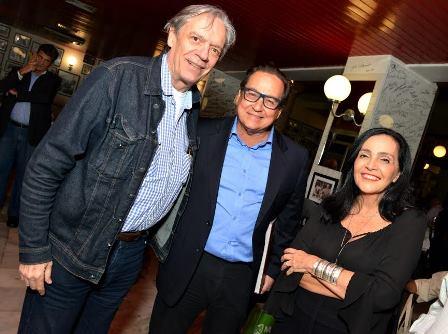 Chico Caruso , Nestor Rocha e Liliana Rodrigues