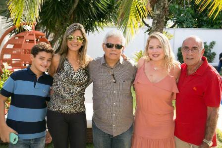 Desembargador Italo e Tatiana Cairo, Luciana e Jorge Habib