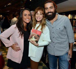 Francisca , Mariana Ximenes e Ricardo Pereira