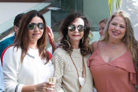 Hosana Pereira, Vera Loyola, Luciana Habib