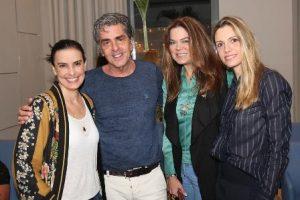 Lana Penna, Ana Paula Cola, Manoel Thomas Carneiro, Flavia Curvello e Ana Paula Cola