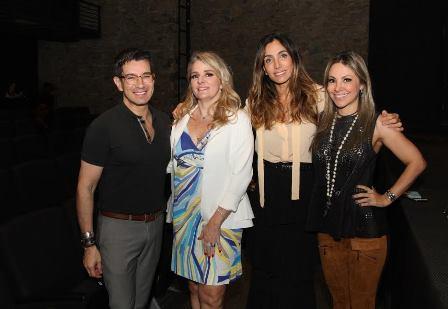 Marcelo Hicho, Claudia Jammuzzi, Andrea Santa Rosa e Alessandra Amaral