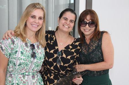 Margareth Diz, Thaiza Ruiz e Rita Moreira