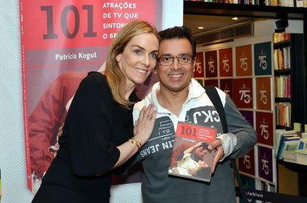 Patricia Kogut e Rodrigo Fagundes